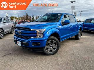 Used 2019 Ford F-150 LARIAT 502A, 4x4 Supercrew, 3.5L Ecoboost, Auto Start/Stop, Heated Seats, Heated Steering Wheel, Pre-Collision Assist, Remote Keyless Entry/Keypad, Reverse Camera System, Navigation, Moonroof for sale in Edmonton, AB