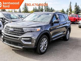 New 2020 Ford Explorer XLT 202A, 4WD, 2.3L Ecoboost, Power Heated Seats, Heated Steering Wheel, Lane Keeping System, Remote Keyless Entry, Reverse Camera/Sensing System, Navigation, Moonroof for sale in Edmonton, AB