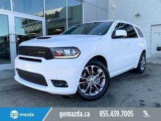 Used 2019 Dodge Durango R/T HEMI LEATHER SUNROOF NAV for sale in Edmonton, AB