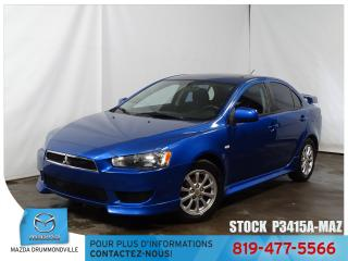 Used 2011 Mitsubishi Lancer SE|TOITOUV|SIEGCHAUF|MAG|BLUETOOTH| for sale in Drummondville, QC