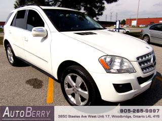 Used 2010 Mercedes-Benz ML-Class ML350 - 4MATIC for sale in Woodbridge, ON