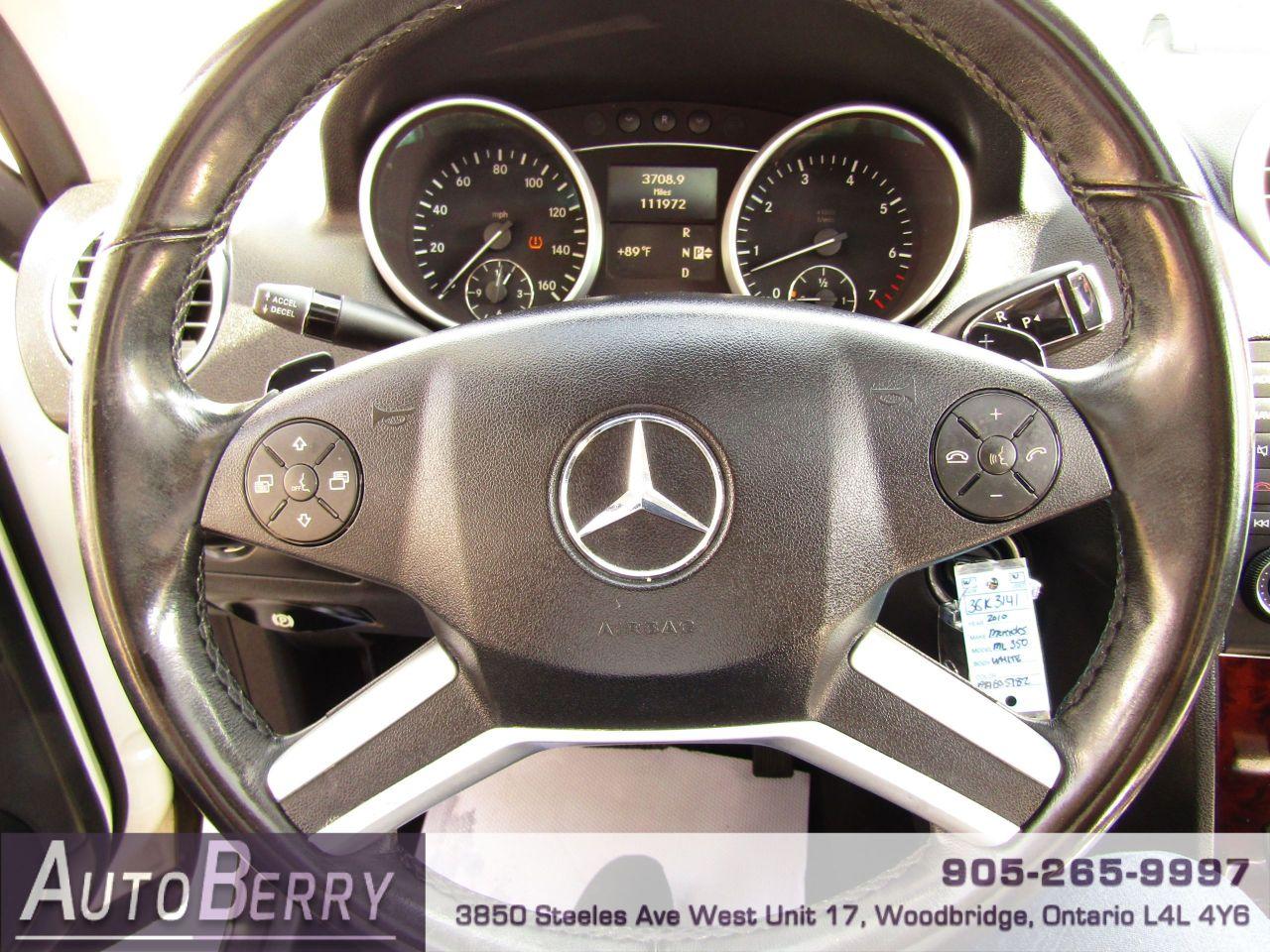 2010 Mercedes-Benz ML-Class
