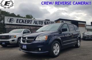 Used 2015 Dodge Grand Caravan Crew / REVERSE CAMERA for sale in Barrie, ON