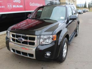 Used 2008 Ford Escape Limited / Sunroof / Heated Front Seats for sale in Edmonton, AB