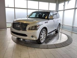 Used 2014 Infiniti QX80 Technology for sale in Edmonton, AB