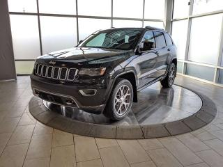 Used 2018 Jeep Grand Cherokee V8 - Limited Sterling Edition - One Owner - Accident Free for sale in Edmonton, AB