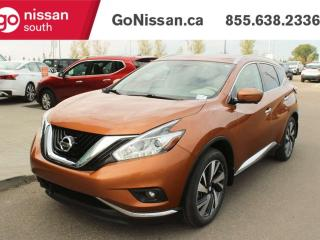 Used 2017 Nissan Murano PLATINUM 4DR AWD BACK UP CAMERA NAVIGATION BLUETOOTH for sale in Edmonton, AB