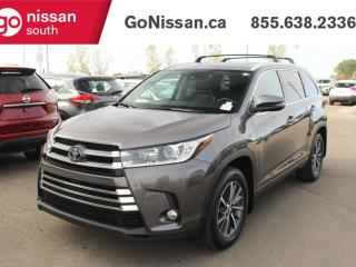 Used 2017 Toyota Highlander XLE LEATHER HEATED SEATS 7 SEATER BACK UP CAMERA for sale in Edmonton, AB