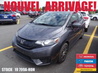 Used 2015 Honda Fit LX+CAMÉRA+SIEGCHAUFF+BLUETOOTH+REGVIT for sale in Drummondville, QC
