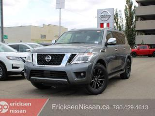 Used 2020 Nissan Armada Platinum | Captain Chair | DVD | Heated & Cooling Seats for sale in Edmonton, AB
