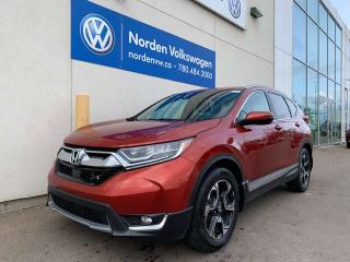 Used 2017 Honda CR-V TOURING 4WD - LEATHER / SUNROOF / NAVI for sale in Edmonton, AB