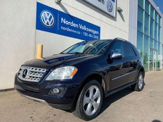 Used 2009 Mercedes-Benz ML-Class 3.0L BLUETEC DIESEL AWD - NAVI / 2 SETS OF TIRES for sale in Edmonton, AB