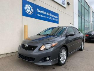 Used 2010 Toyota Corolla S 5SPD M/T - PWR PKG + CRUISE for sale in Edmonton, AB
