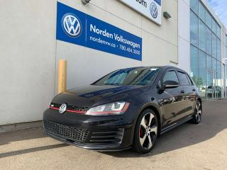 Used 2015 Volkswagen Golf GTI AUTOBAHN 5DR 6SPD M/T - LEATHER + TECH PKG! for sale in Edmonton, AB