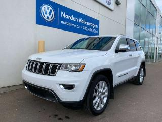 Used 2017 Jeep Grand Cherokee 5.7L HEMI LIMITED 4WD - LEATHER / SUNROOF / LOADED for sale in Edmonton, AB
