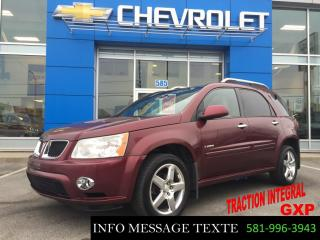 Used 2008 Pontiac Torrent GXP, TOIT OUVRANT for sale in Ste-Marie, QC