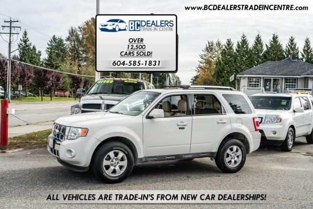 2009 Ford Escape Limited V6 4WD, Leather, Sunroof, 163k, Local!
