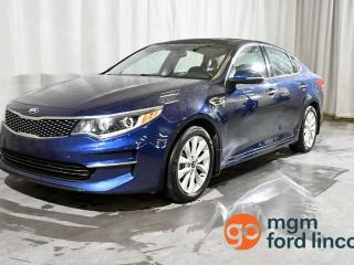 Used 2016 Kia Optima EX | HEATED FRONT SEATS | HEATED STEERING WHEEL | BACKUP CAMERA for sale in Red Deer, AB