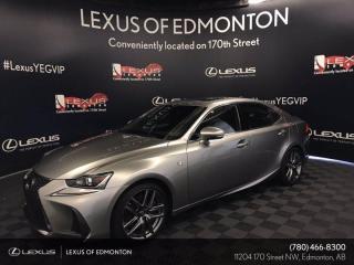 New 2019 Lexus IS 350 F Sport Series 2 for sale in Edmonton, AB