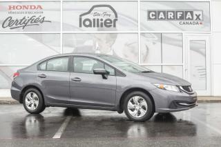 Used 2015 Honda Civic LX ***GARANTIE 10 ANS/200 000 KM*** for sale in Québec, QC