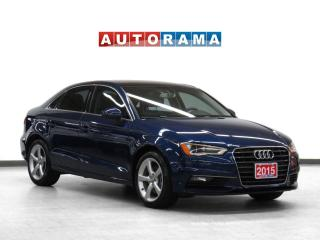 Used 2015 Audi A3 Komfortline Leather Sunroof for sale in Toronto, ON