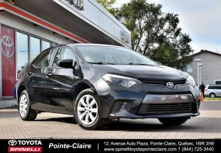 Used 2015 Toyota Corolla ***RÉSERVÉ***LE AUBAINE! for sale in Pointe-Claire, QC