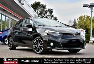 Used 2016 Toyota Corolla SPORT UPGRADE MAGS, TOIT, SIÈGES CHAUFFANT for sale in Pointe-Claire, QC