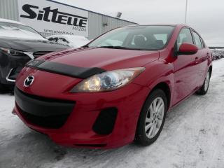 Used 2013 Mazda MAZDA3 GS-SKY / AUTOMATIQUE / JAMAIS ACCIDENTE! for sale in St-Georges, QC