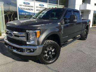 Used 2017 Ford F-250 XLT CREW 6 1/2 DIESEL ULTRA AVANTAGEUX 4X4 for sale in St-Georges, QC