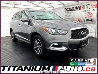 Used 2016 Infiniti QX60 AWD+Safety PKG+GPS+360 Camera+Radar Cruise+Blind S for sale in London, ON
