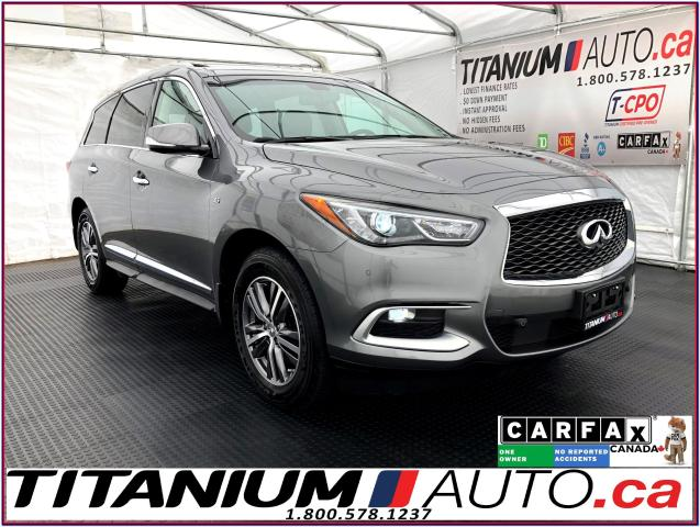 2016 Infiniti QX60 AWD+Safety PKG+GPS+360 Camera+Radar Cruise+Blind S
