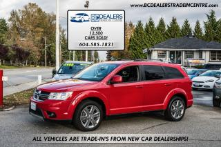 Used 2014 Dodge Journey Limited V6, Local, No Accidents, Bluetooth, Clean! for sale in Surrey, BC
