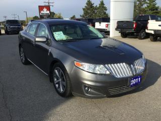 Used 2011 Lincoln MKS Sedan | AWD | for sale in Harriston, ON