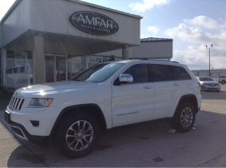 Used 2015 Jeep Grand Cherokee Limited / LEATHER / NO PAYMENTS FOR 6 MONTHS !! for sale in Tilbury, ON