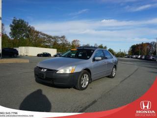 Used 2004 Honda Accord EX - Leather - V6 - 2 Year MVI !! for sale in Bridgewater, NS