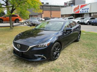 Used 2016 Mazda MAZDA6 GT~NAV.~HUD DISPLAY~LEATHER~ALL POWER OPTIONS~ for sale in Toronto, ON