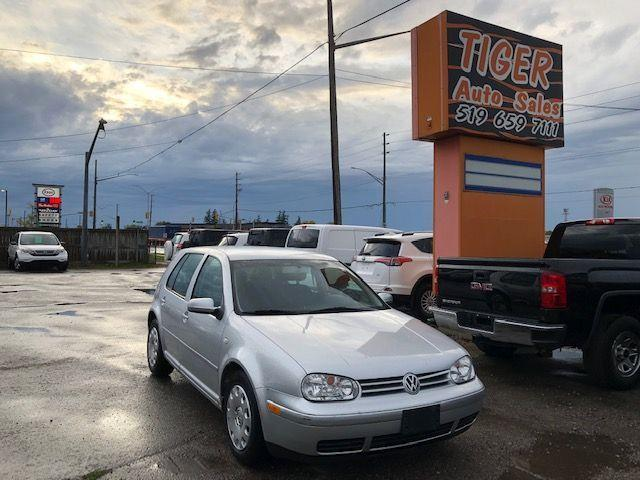 2004 Volkswagen Golf GLS**ONLY 77KMS**CLEAN CAR**STARTING PROBLEM*AS IS