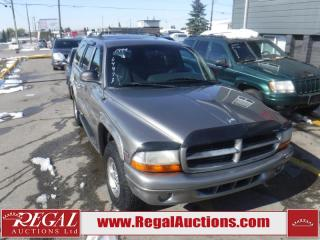 Used 1999 Dodge Durango SLT 4D Utility 4WD for sale in Calgary, AB