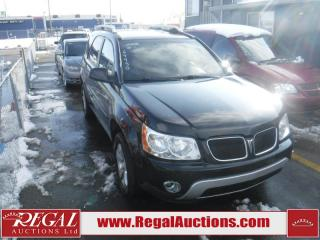 Used 2008 Pontiac TORRENT AWD  4D UTILITY AWD for sale in Calgary, AB