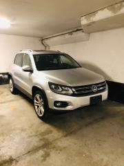 Used 2012 Volkswagen Tiguan WINTER TIRES ON RIMS- 4WD Leather Pano Roof Navi++ for sale in Toronto, ON