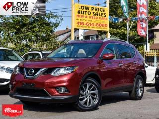 Used 2015 Nissan Rogue SL'Tech*Navi*Camera*Leather*Panoramic*Navi&MORE! for sale in Toronto, ON