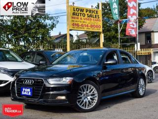 Used 2015 Audi A4 Sline*HtdSeats*Leather*Sunroof*AWD*BlckBlk for sale in Toronto, ON