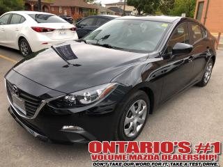 Used 2015 Mazda MAZDA3 GX, ONE OWNER, ONLY 31, 403 KM !!! for sale in Toronto, ON