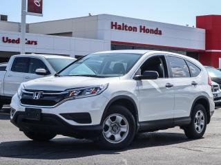 Used 2015 Honda CR-V LX 2WD|NO ACCIDENTS|SERVICE HISTORY ON FILE for sale in Burlington, ON