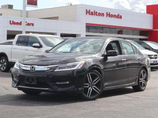 Used 2017 Honda Accord Touring SERVICE HISTORY ON FILE ACCIDENT FREE for sale in Burlington, ON