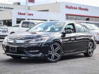Used 2016 Honda Accord SPORT|NO ACCIDENTS for sale in Burlington, ON