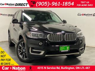 Used 2016 BMW X5 xDrive50i| 7-PASSENGER| NAVI| DVD| LOW KM'S| for sale in Burlington, ON