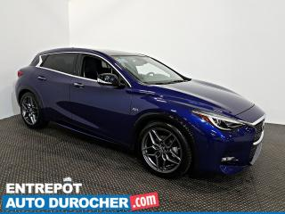 Used 2017 Infiniti QX30 S NAVIGATION - Toit Ouvrant - A/C - Cuir for sale in Laval, QC