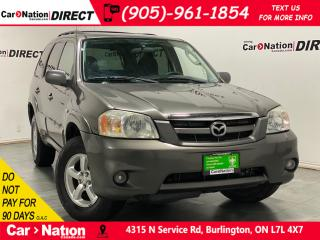 Used 2006 Mazda Tribute GX V6| AS-TRADED| ALLOYS| OPEN SUNDAYS| for sale in Burlington, ON