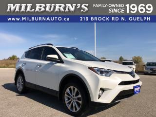 Used 2018 Toyota RAV4 LIMITED AWD for sale in Guelph, ON